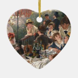 Alumerzo del fiesta del canotaje - Renoir Adorno De Cerámica