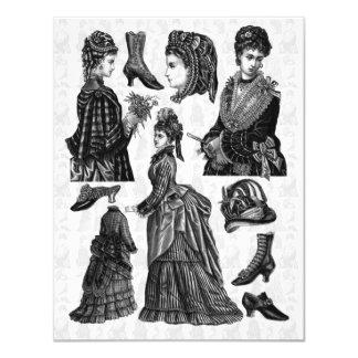 Alumerzo del Victorian Invitación 10,8 X 13,9 Cm