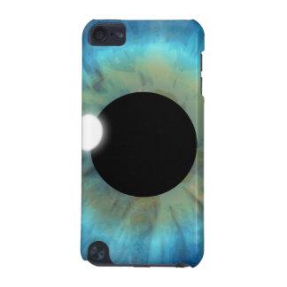 Alumno llamativo del globo del ojo del iris del carcasa para iPod touch 5G