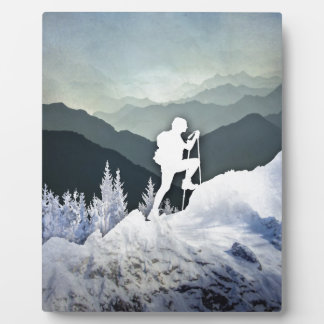 Alza del invierno placa expositora