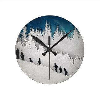 Alza II de la nieve Reloj Redondo Mediano