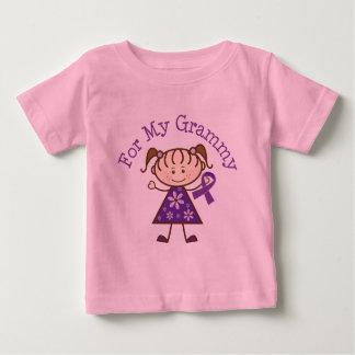 Alzheimers para mi Grammy Camiseta De Bebé