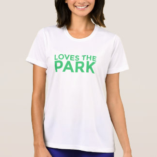 Ama la camiseta de las mujeres del parque