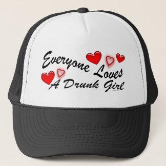 Ama un gorra borracho del chica