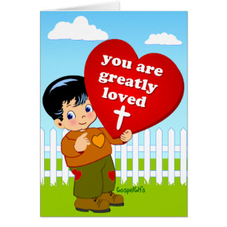 Amado grandemente tarjeta