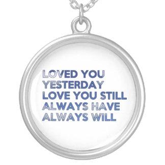 Amado le tenga ayer siempre lo va a hacer siempre joyeria personalizada