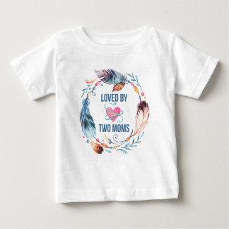 Amado por la camiseta bohemia del bebé de dos