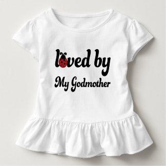 Amado por mi camiseta de las niñas pequeñas de la
