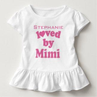 Amado por Mimi la camiseta personalizada del nieto