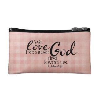 Amamos el bolso del cosmético de dios