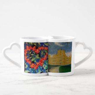 Amamos la abadía de Downton Set De Tazas De Café