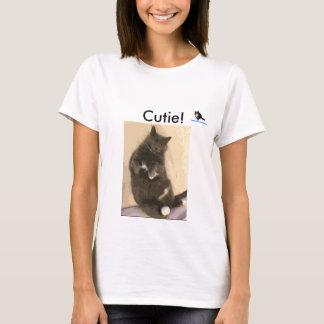 Amamos la camiseta de Cutie de los gatos