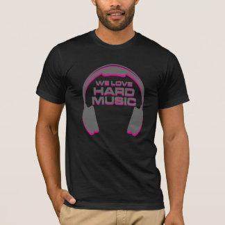 Amamos la música dura EDM Camiseta