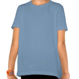 Amándole camiseta azul de las señoras
