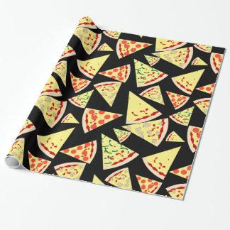 Amante al azar dinámico de la pizza del modelo de papel de regalo
