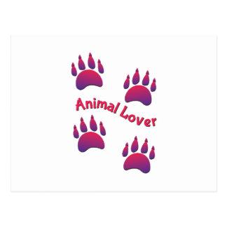 Amante animal postal