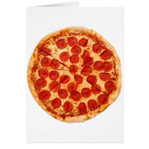 amante clásico de la pizza tarjeta