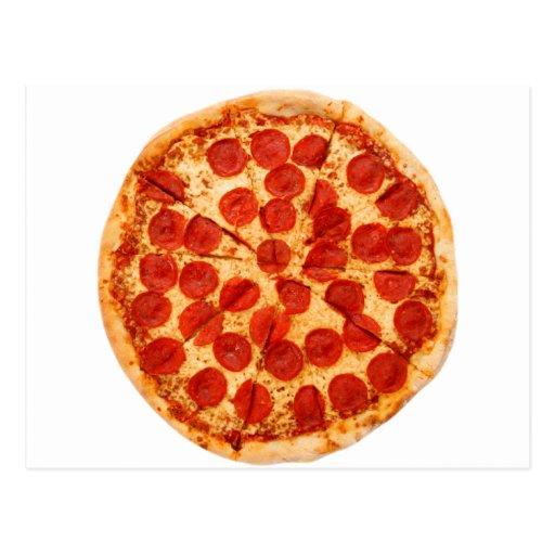 amante clásico de la pizza postales