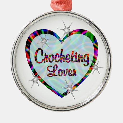 Amante Crocheting Ornaments Para Arbol De Navidad