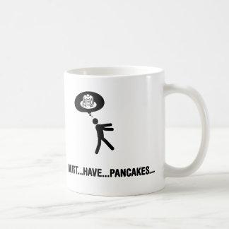 Amante de la crepe taza de café