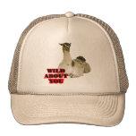 Amante de la llama gorras de camionero