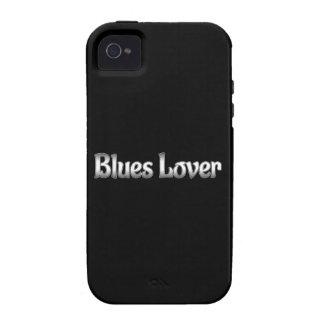 Amante de los azules iPhone 4 carcasas