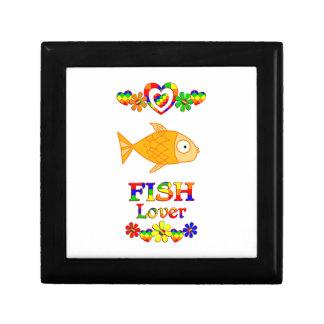 Amante de los pescados joyero