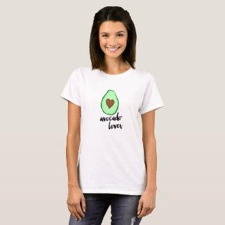 Amante del aguacate camiseta