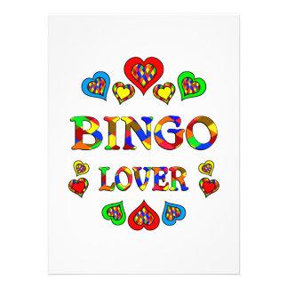 Amante del bingo anuncio personalizado