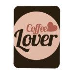 Amante del café imanes flexibles