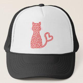 Amante del gato gorra de camionero