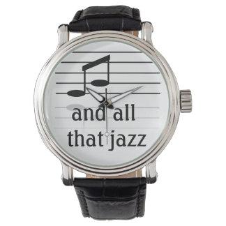 Amante del jazz - el reloj de los hombres