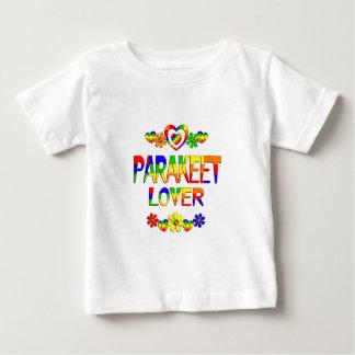 Amante del Parakeet Camiseta De Bebé