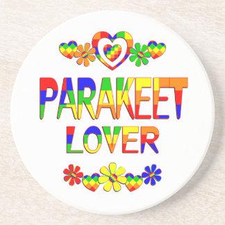 Amante del Parakeet Portavasos