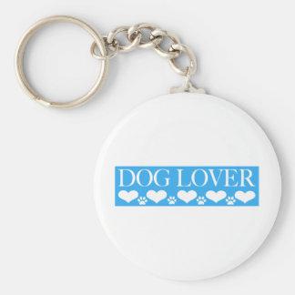 Amante del perro llavero