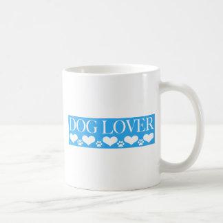Amante del perro taza clásica