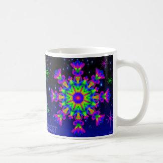 Amantes de la púrpura de la taza del caleidoscopio