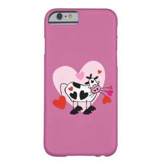 Amantes de la vaca funda de iPhone 6 barely there
