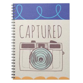 Amantes diarios de la cámara libro de apuntes