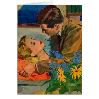 amantes en amor tarjeta de felicitación