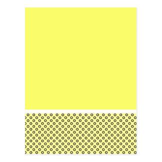 Amantes en colores pastel del limón postal