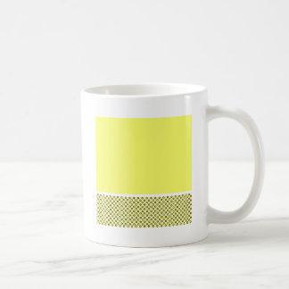 Amantes en colores pastel del limón taza de café