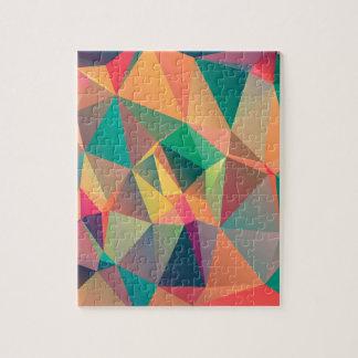 Amantes geométricos puzzles con fotos