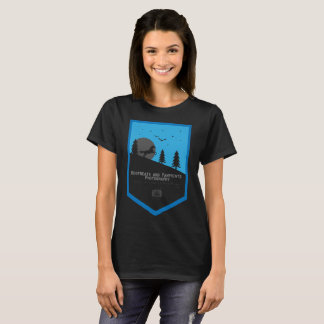 Amantes Hoofbeats del caballo y logotipo de Camiseta