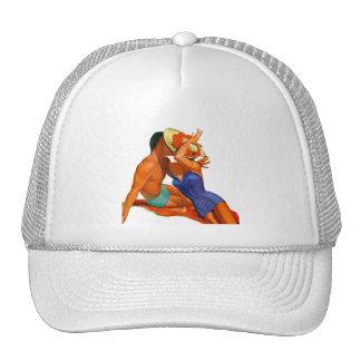 Amantes retros del verano gorra