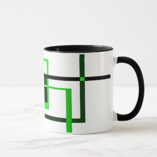 Amantes verdes taza