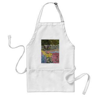 Amapolas de jardín del parque del Prescott Delantal
