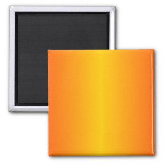 Amarillo anaranjado oscuro de encargo imán