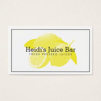 Amarillo/blanco del ejemplo de la serigrafía de tarjeta de negocios