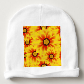 Amarillo colorido del modelo del verano tickseed gorrito para bebe